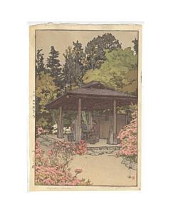 hiroshi yoshida, azalea garden