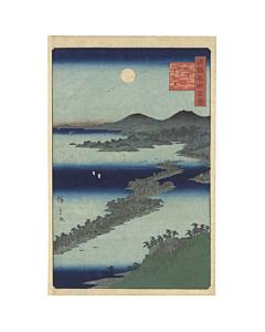 hiroshige II utagawa, landscape, edo period