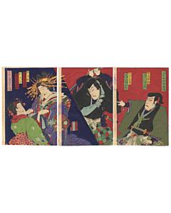 kabuki theatre, actors