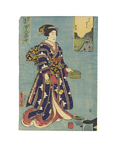 toyokuni III utagawa, beauty in edo
