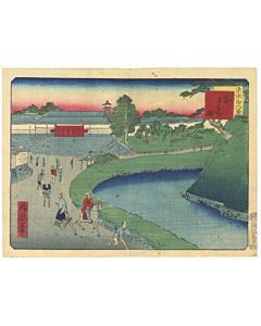 shosai ikkei, landscape, tokyo