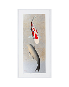 kunio kaneko, one heart, koi fish, contemporary art