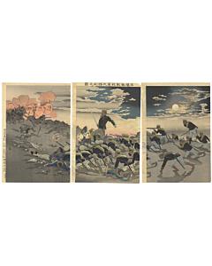 kiyochika kobayashi, war print