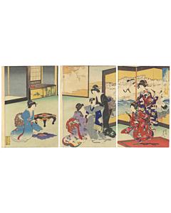 chikanobu toyohara, japanese culture, boy's day in japan