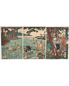 yoshikazu utagawa, samurai, warrior