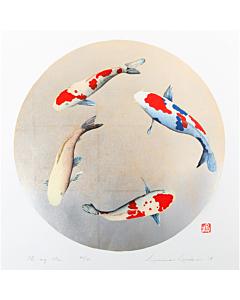 kunio kaneko, Oh my Mai, japanese koi fish, contemporary art