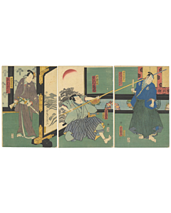 kabuki theatre, kabuki actors, performance, japanese theatre, edo period