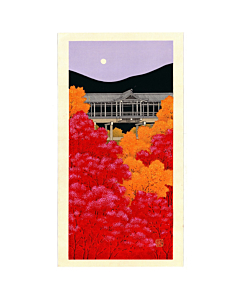 teruhide kato, Kiyomizu Temple in Autumn, contemporary art