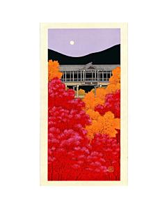 teruhide kato, Kiyomizu Temple in Autumn, contemporary art