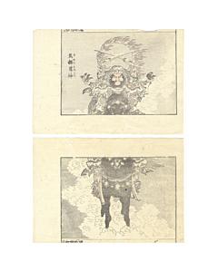 hokusai katsushika, barekisonjin, manga