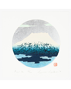 Kunio Kaneko, Blue Mount Fuji, Contemporary Art