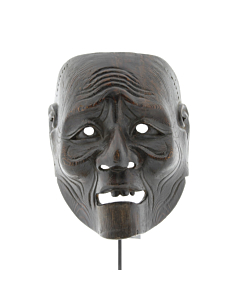 koshijo, noh mask, traditional theatre, old man