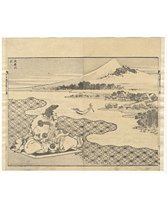 hokusai katsushika, views of mount fuji, landscape