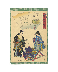 kunisada II, tale of genji, japanese literature