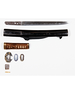 tanto, japanese dagger, short sword, japanese sword, swordsmith, artisan, muromachi period