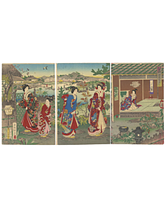 tea ceremony, traditional art, kimono design, japanese pattern, landscape, japanese culture