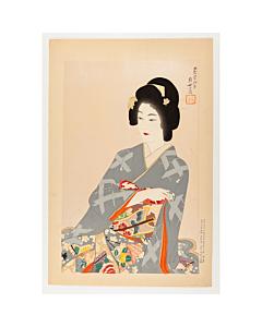 Tomoyo Jinbo, Bikun, Lady in Kimono