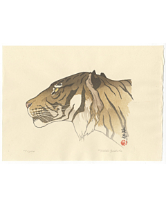 toshi yoshida, tiger, animal print