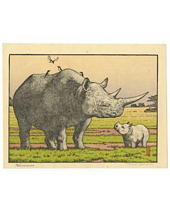 toshi yoshida, Rhinoceros