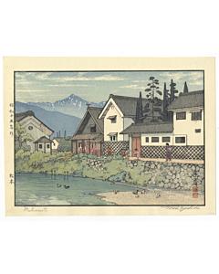 toshi yoshida, matsumoto, landscape