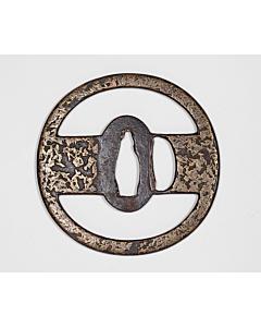 tsuba, hand guard, sword guard, japanese sword, swordsmith, artisan, brass, iron, sword fittings