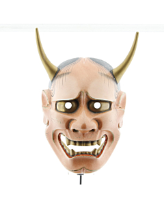 Hannya, Noh Theatre Mask, Woman, Demon, Japanese antique, Japanese art