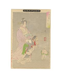 japanese woodblock print, japanese antique, japanese art, ghost, yoshitoshi