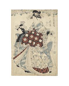 utamaro kitagawa, courtesan, edo era