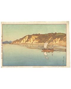Hiroshi Yoshida, Shiraishi Island, Inland Sea, Landscape, modern japanese print