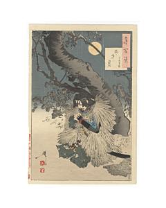 yoshitoshi tsukioka, rainy moon