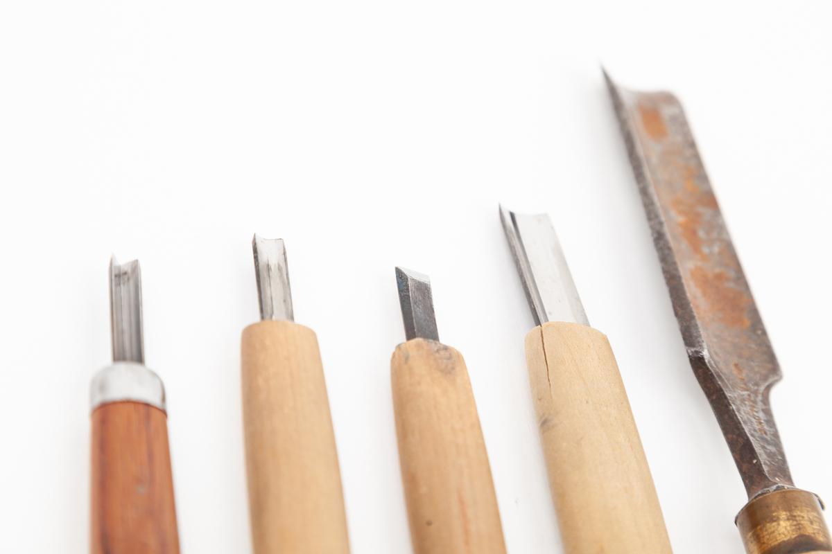 woodblock print tools