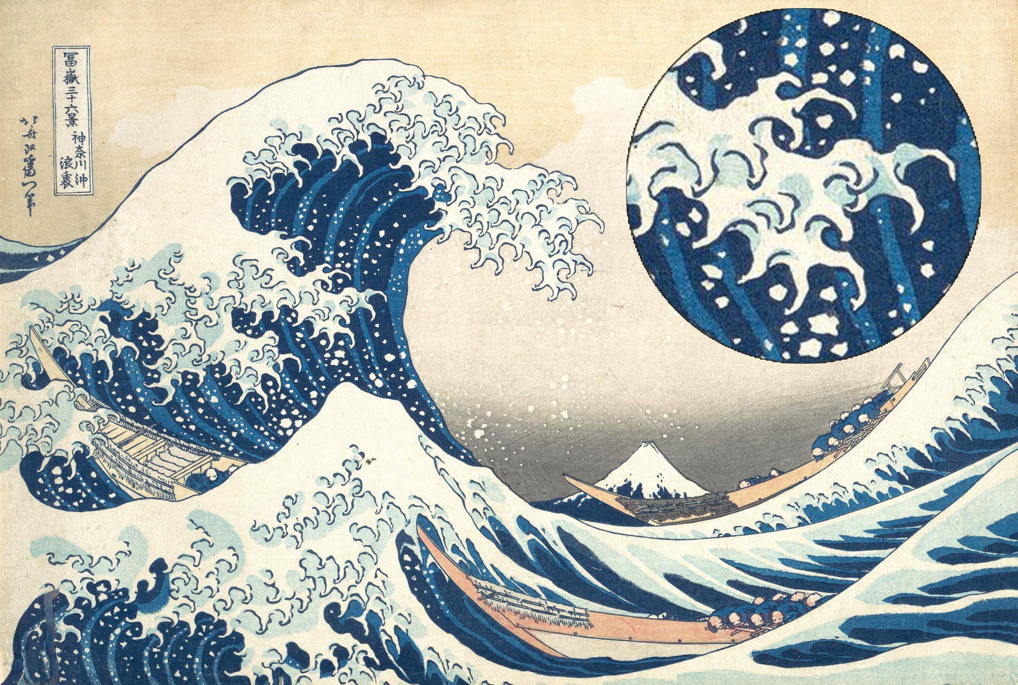 hokusai katsushika, great wave, kanagawa