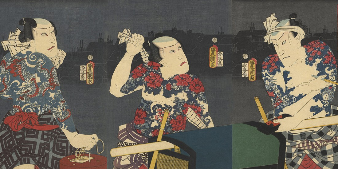 Kunisada and the Tattoos of Kabuki Theatre