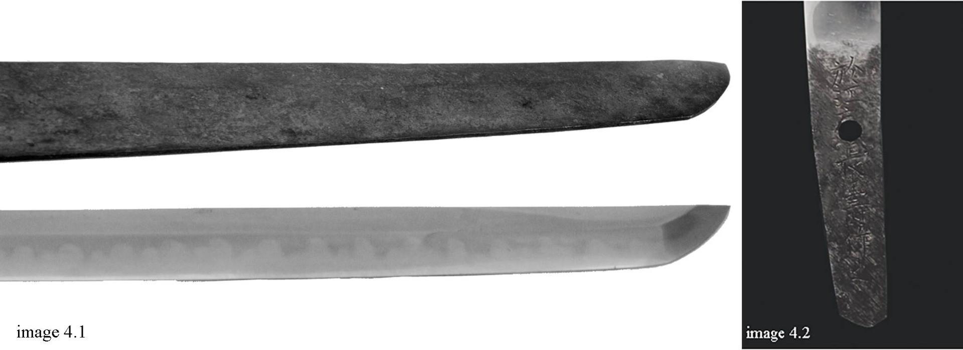 japanese sword, katana, antique