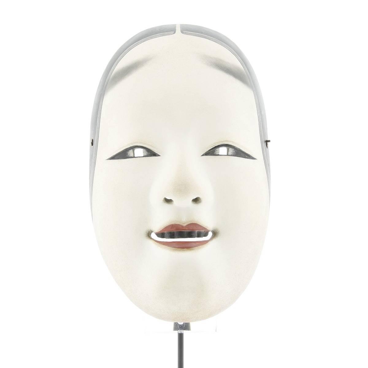 japanese theatre mask, noh