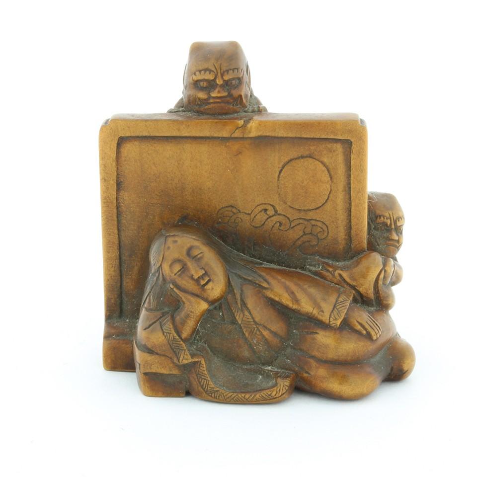 woodwork, japanese inro, netsuke