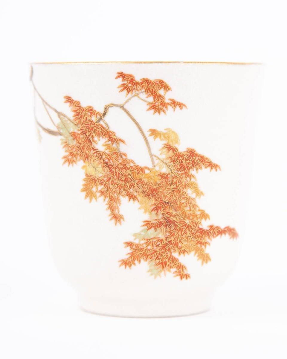 satsuma cup, japanese porcelain